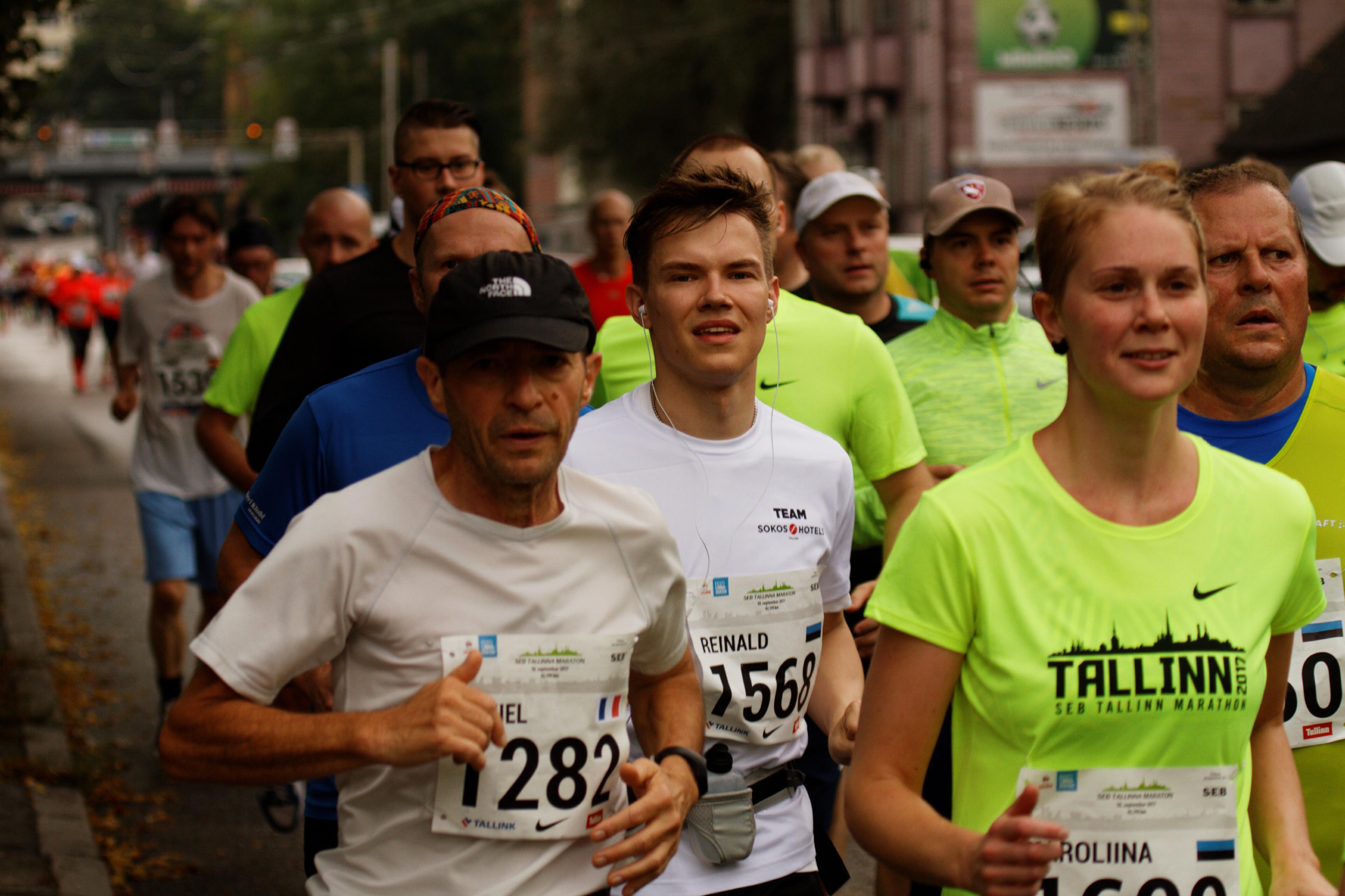 Lõpetasin Talllinna suure jooksupeo SEB maratoni 1648. kohaga